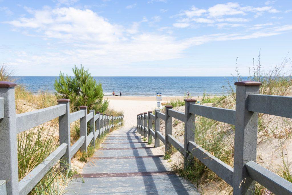 Ostseeinsel-Strand