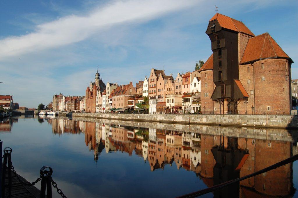 Gdansk Danzig Altstadt polnische Ostsee