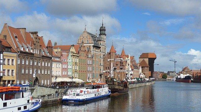 Gdansk Danzig polnische Ostsee