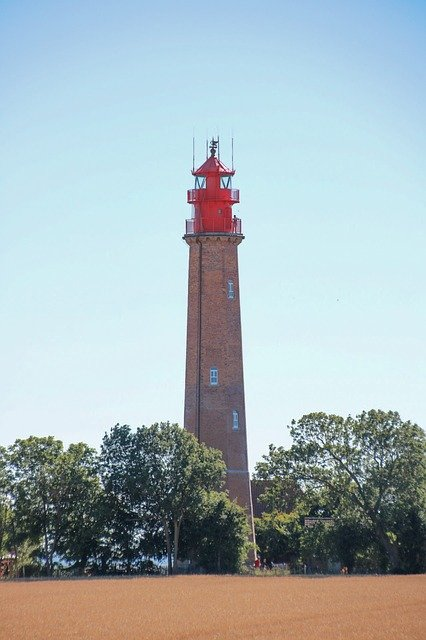 Ostseeinsel Fehmarn Leuchtturm