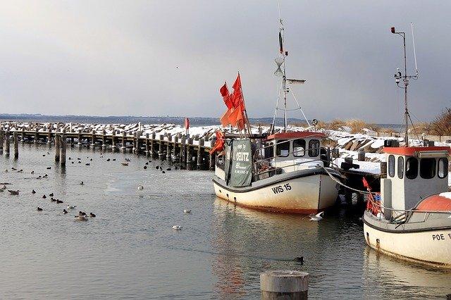 Ostseeinsel Poel Hafen