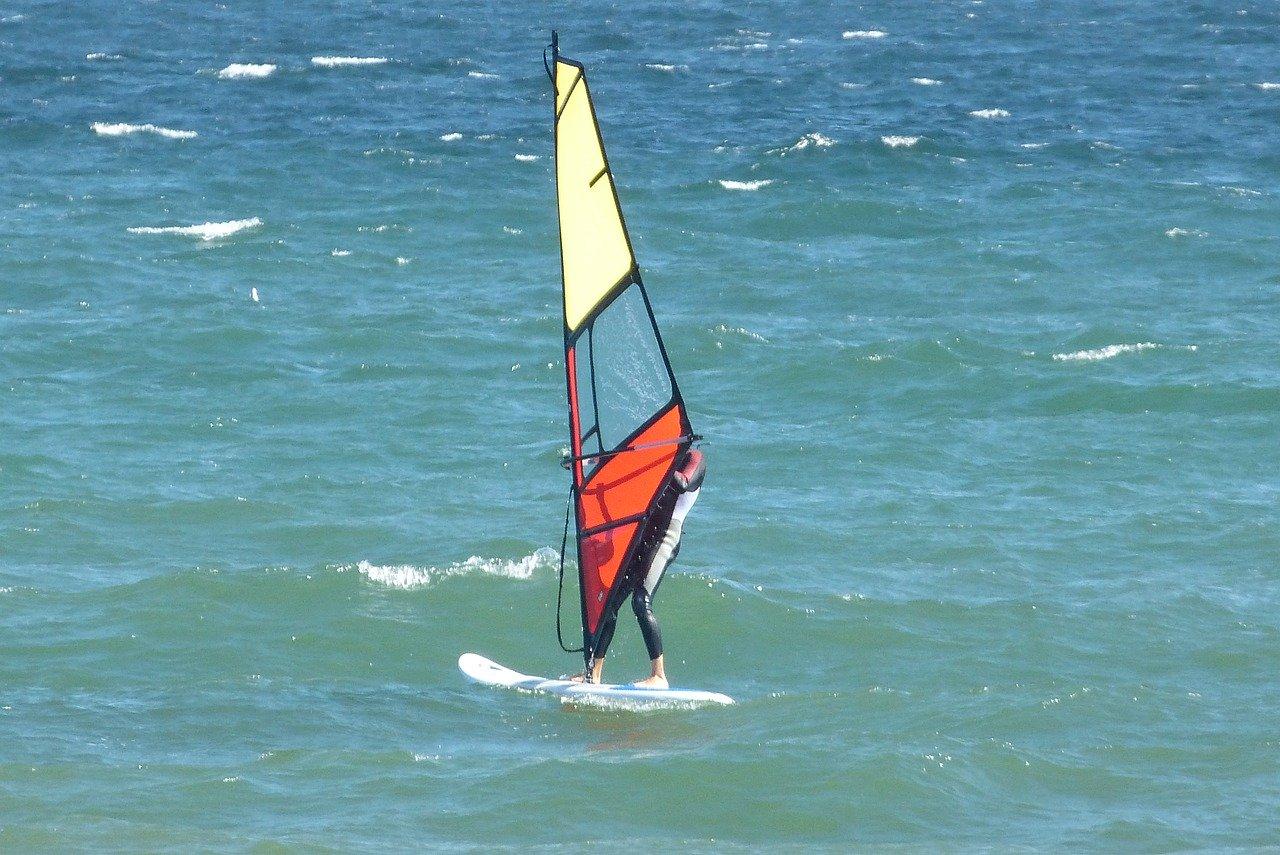 surfen an der deutschen Ostsee